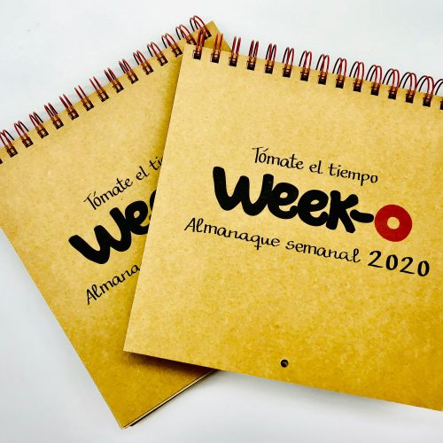 Pack descuento 2 almanaques week-o 2020