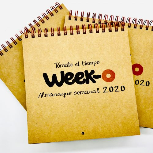 Pack descuento 3 almanaques week-o 2020