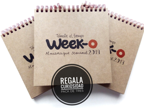 Pack descuento 3 almanaques week-o 2019