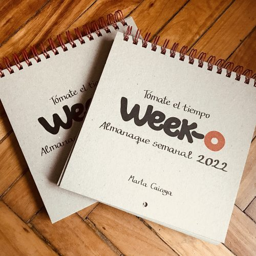 Pack descuento 2 almanaques week-o 2022