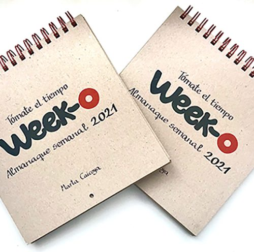 Pack descuento 2 almanaques week-o 2021